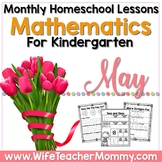 May Homeschool Lessons for Kindergarten Home Learning Math