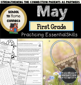 May Homework Packet: 1st Grade