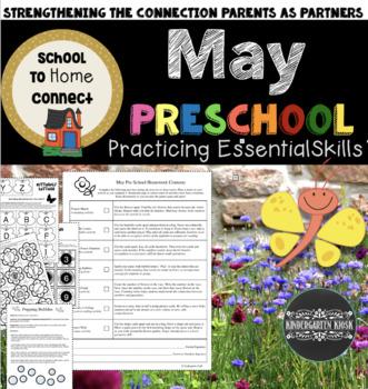 May Homework Packet: Preschool