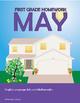 May Homework or School Activities-Kindergarten & First Gra