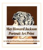 May Howard Jackson Portrait Art Print
