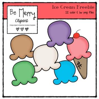 May Ice Cream FREEBIE
