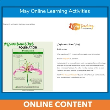 May Independent Learning Module (ILM) Spring Chromebook Activities