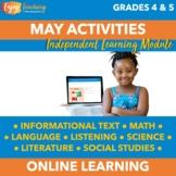 Distance Learning Activities for May - A Complete Set of O