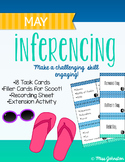 May Inferencing Task Cards