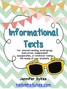May Informational Texts ~ Cinco De Mayo, Memorial Day, and Rocks