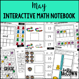 May Interactive Math Notebook Kindergarten