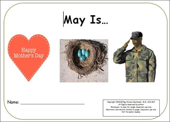 May Is: Interactive Book for Older Students