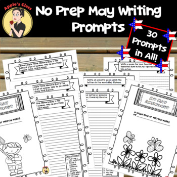 May Journal Prompts