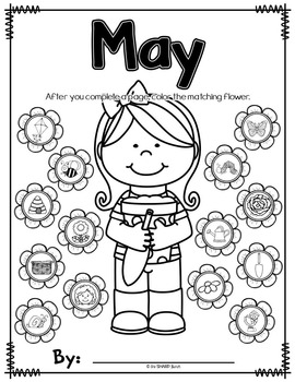 May Journal Prompts - No Prep Writing Center