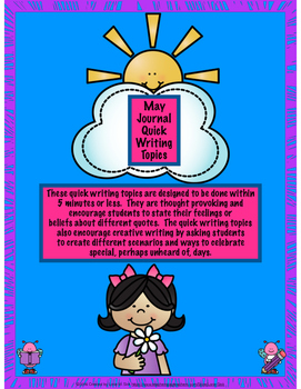 May Journal Quick Writing Topics