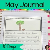 May Journal Writing | Distance Learning