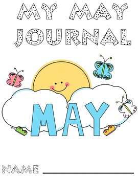May Journal Writing Book