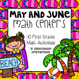 May / June Math Centers