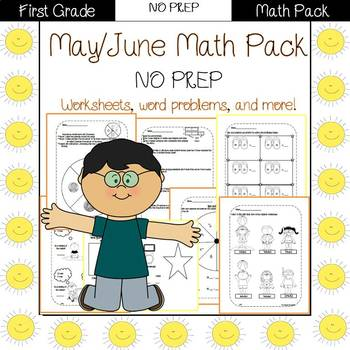 First Grade Math Pack {May}