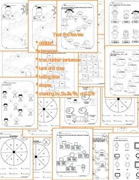 First Grade Math Pack {May}