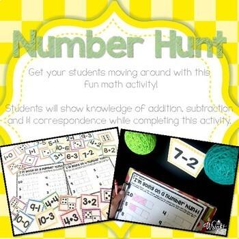 May & June Math and Literacy Activities