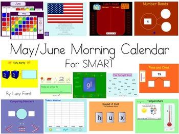 May/June Morning Calendar SMART