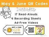 May & June Listening Center: QR Codes