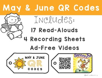 May & June Listening Center: QR Codes