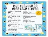 May June Summer QR Code Read Alouds