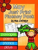 May Just Print Fluency Pack - Distance Learning