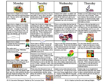May K-5  Reading, Writing, and Research Strategy Review Homework Calendar