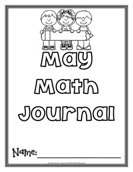 May Kinder Math Journal