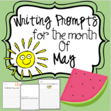 May Kindergarten -2nd grade Writing Prompts