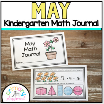 May Kindergarten Math Journal