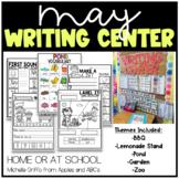 May Kindergarten Writing Center