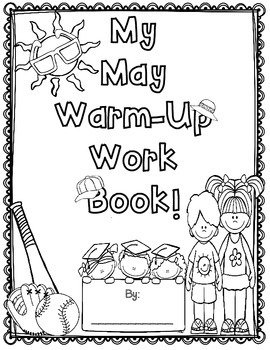 May Language Arts & Math Warm-up Work