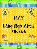 May Language Arts  Packet:  Cause and Effect, Guide Words, Homophones