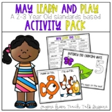May Learn and Play Activity Packet-2-3 Year Old Standards