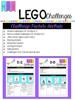 May Lego Challenges