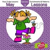 May Lessons Preschool Pre-K Kindergarten Curriculum BUNDLE S2