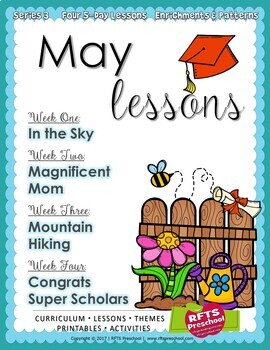 May Lesson Plans Series 3 [Four 5-day Units]