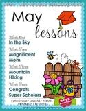 Preschool Pre-K Kindergarten Curriculum MAY S3