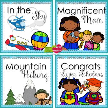 May Lessons Preschool Pre-K Kindergarten Curriculum BUNDLE S3