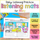 Listening Activities for May