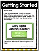 May Listening Center GOOGLE CLASSROOM EDITION