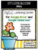 May Listening Center GOOGLE CLASSROOM EDITION