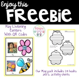 May Listening Center with QR codes--FREEBIE
