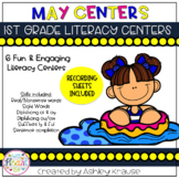 #lastday May Literacy Centers - 1st Grade