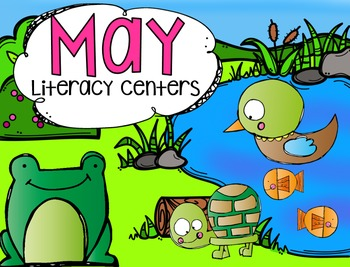 May Literacy Centers {CCSS}