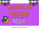 May Literacy Centers SPANISH - Centros de Lectura Mayo