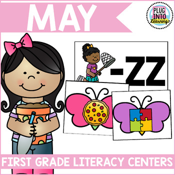 May Literacy Centers for First Grade