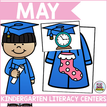May Literacy Centers for Kindergarten