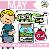 May Literacy Centers for Second Grade