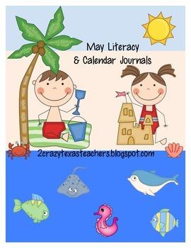 May Literacy Journal & Calendar Journal